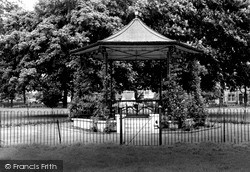 Wisbech, The Park Bandstand c.1955