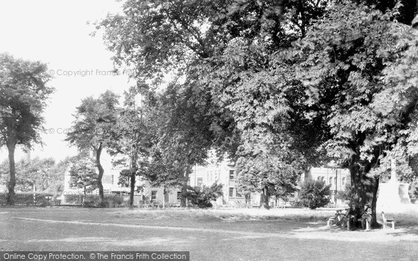 Photo of Wisbech, The Park c.1950