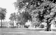 Wisbech, the Park c1950
