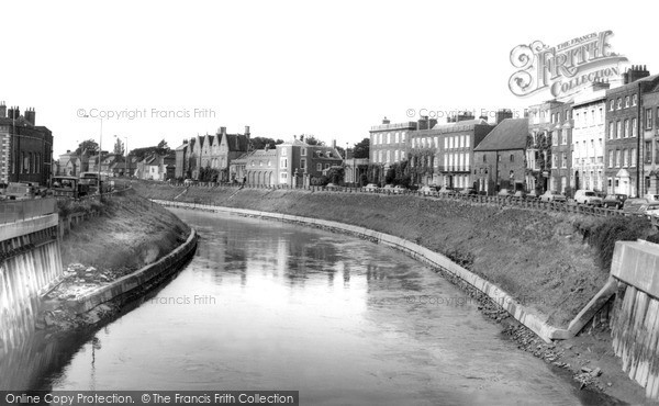 Photo of Wisbech, The River Nene And North Brink c.1965