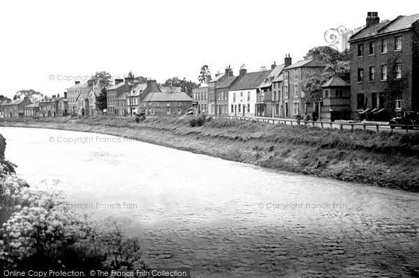 Photo of Wisbech, The River Nene c.1955