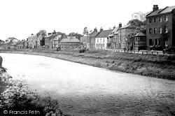 Wisbech, The River Nene c.1955