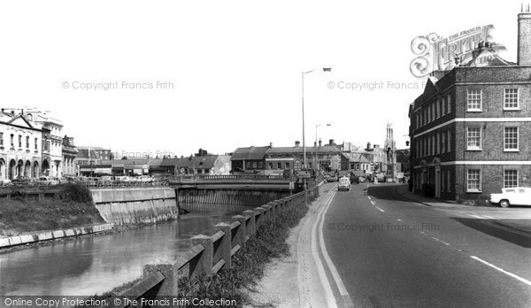 Photo of Wisbech, The South Brink c.1965