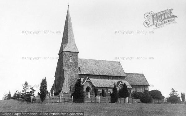 Photo of Wisborough Green, Church Of St Peter Ad Vincula 1896