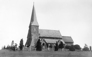 Wisborough Green, Church of St Peter ad Vincula 1896