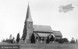 Church Of St Peter Ad Vincula 1896, Wisborough Green