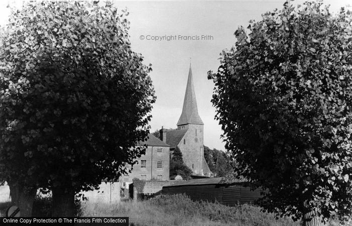 Photo of Wisborough Green, Church Of St Peter Ad Vincula c.1955