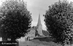 Wisborough Green, Church Of St Peter Ad Vincula c.1955