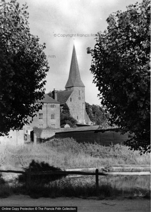 Photo of Wisborough Green, Church Of St Peter Ad Vincula c.1955