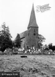 Church Of St Peter Ad Vincula c.1965, Wisborough Green