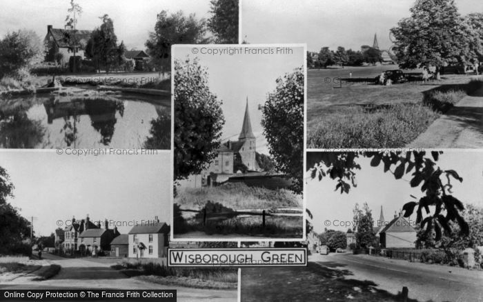Photo of Wisborough Green, Composite c.1955