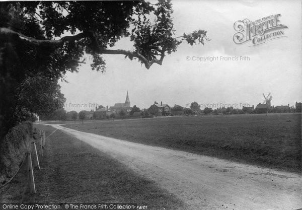 Photo of Wisborough Green, From Petworth Road 1896
