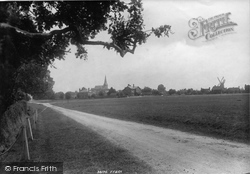Wisborough Green, From Petworth Road 1896