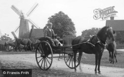 Wisborough Green, Horse And Carriage 1896
