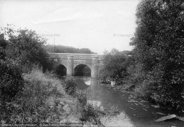 Photo of Wisborough Green, New Bridge 1896