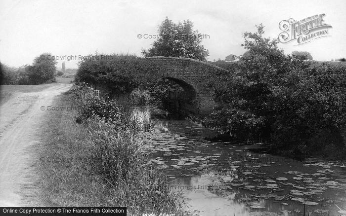 Photo of Wisborough Green, Old Bridge On Wye And Arun Canal 1896