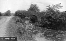 Old Bridge On Wye And Arun Canal 1896, Wisborough Green