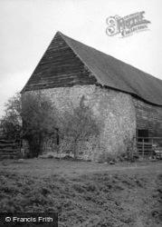 Pallingham, 13th C Manor House, Now A Barn 1950, Wisborough Green
