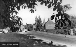 Petworth Road c.1955, Wisborough Green
