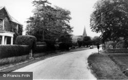 Road To The Church c.1965, Wisborough Green