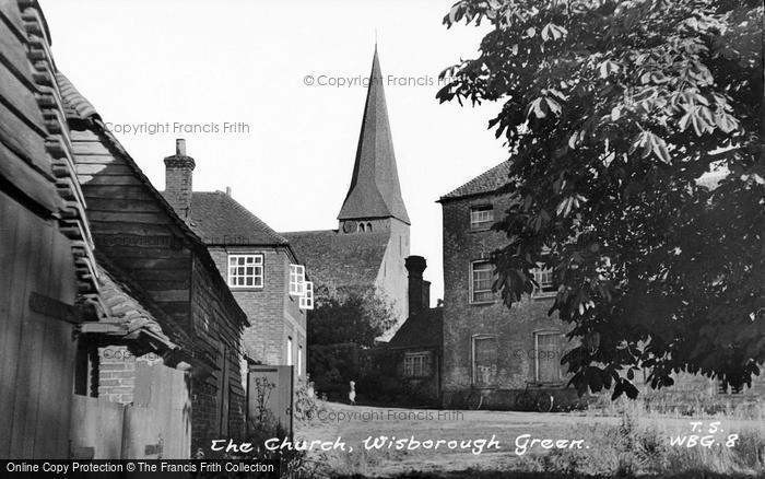 Photo of Wisborough Green, The Church c.1955
