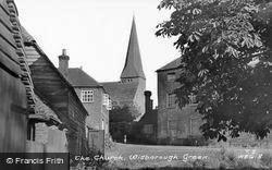 The Church c.1955, Wisborough Green
