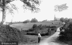 Wisborough Green, The Church, Village And Windmill 1896