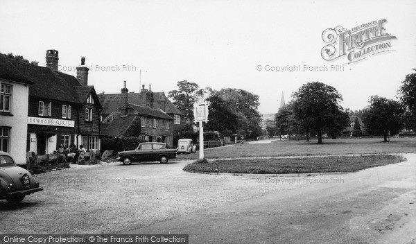 Photo of Wisborough Green, The Cricketers Arms c.1965