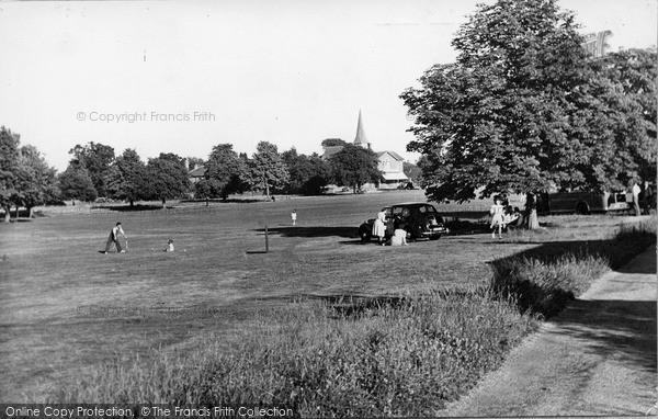 Photo of Wisborough Green, The Green c.1955