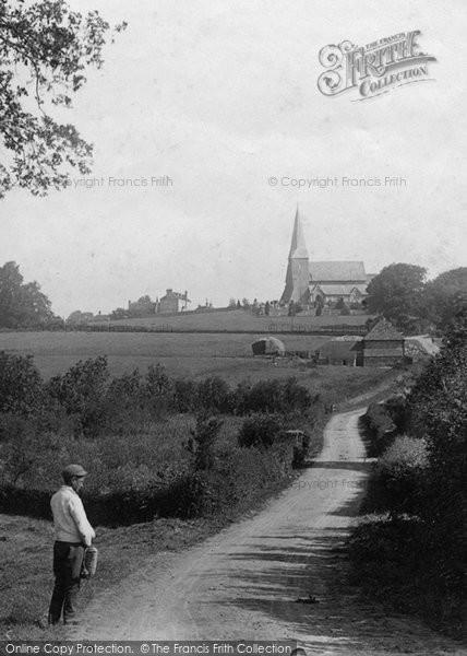 Photo of Wisborough Green, The Long Road Home 1896