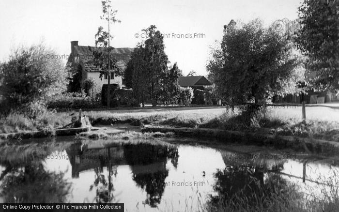 Photo of Wisborough Green, The Pond c.1955