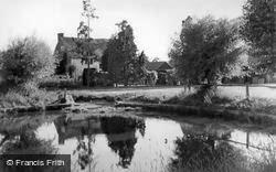The Pond c.1955, Wisborough Green
