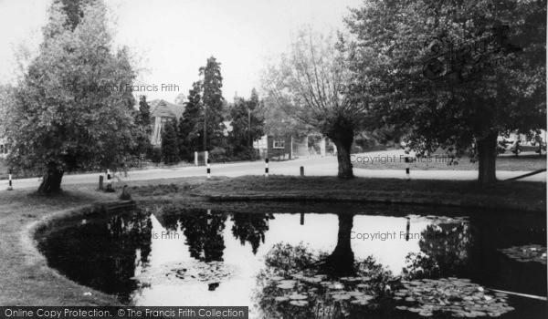 Photo of Wisborough Green, The Pond c.1965