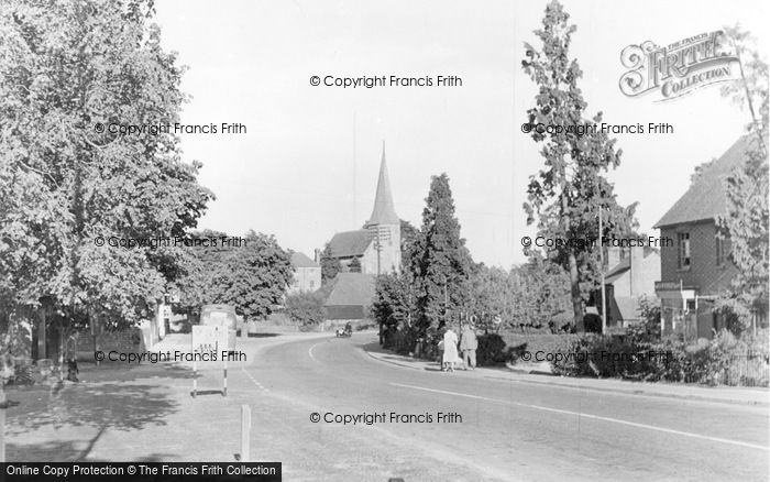 Photo of Wisborough Green, The Village c.1955