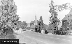 The Village c.1955, Wisborough Green