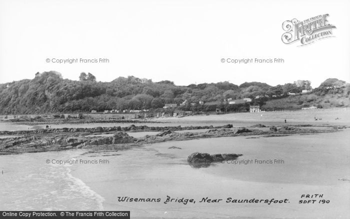 Photo of Wisemans Bridge, c.1960