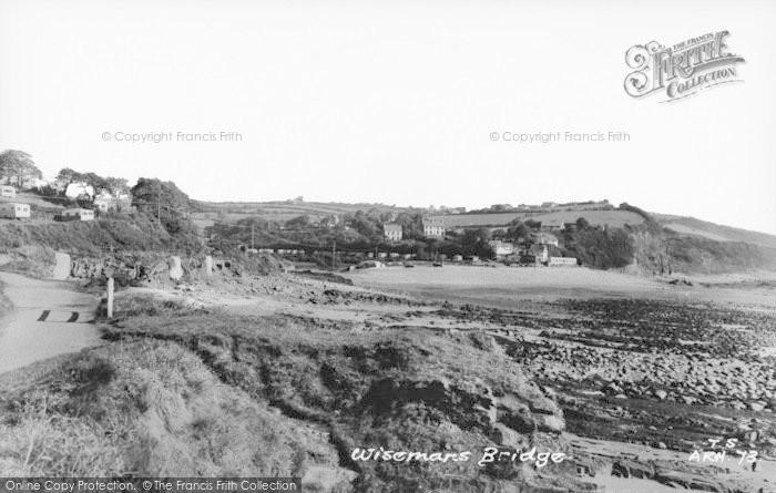 Photo of Wisemans Bridge, c.1965