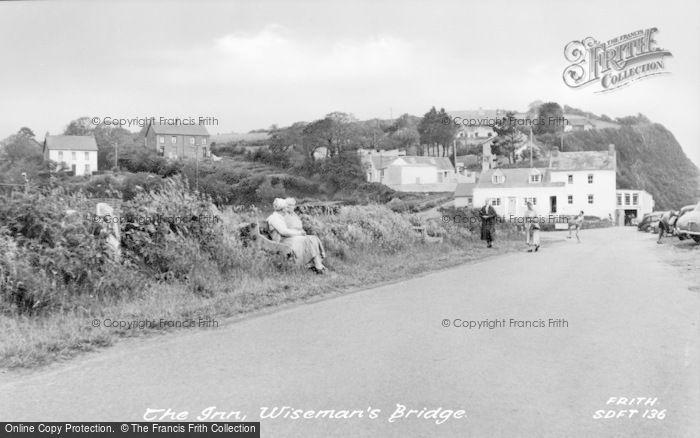 Photo of Wisemans Bridge, The Inn c.1960