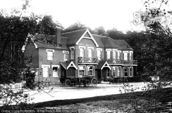 Photo of Wisley, Hut Hotel 1903
