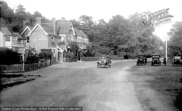 Photo of Wisley, Hut Hotel 1915