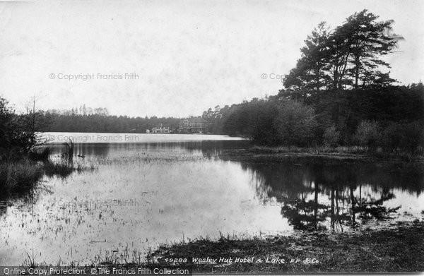 Photo of Wisley, Hut Hotel And Lake 1903