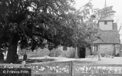 Parish Church Of Wisley And Pyrford c.1960, Wisley