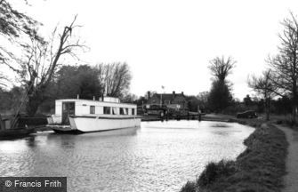 Wisley, the Canal c1955