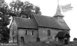 Wisley, The Church c.1955