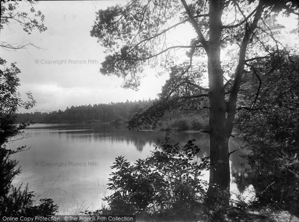 Photo of Wisley, The Lake From Hut Hotel 1928