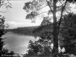 Wisley, The Lake From Hut Hotel 1928