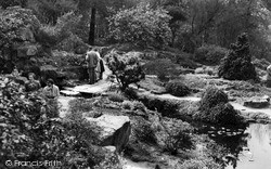 Wisley, The Royal Horticultural Society Gardens c.1960