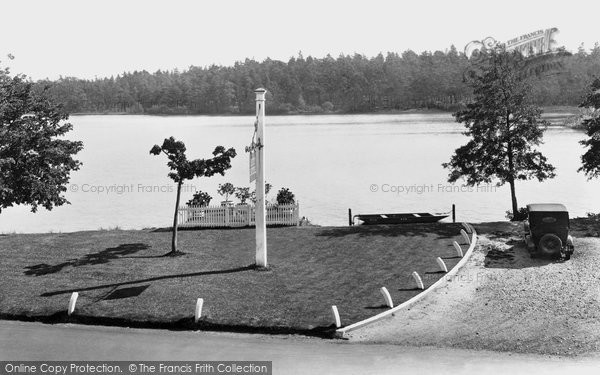 Photo of Wisley, View From Hut Hotel 1928