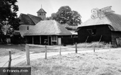 Wissington, Church And Village 1950