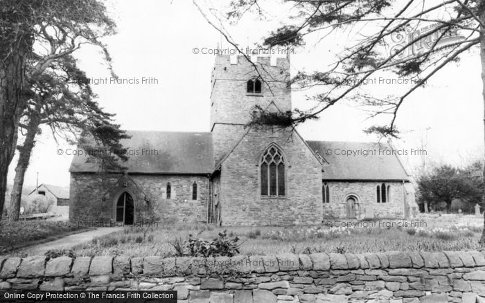 Photo of Wistanstow, The Church c.1960